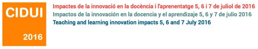 IX Congreso Internacional de Docencia Universitaria