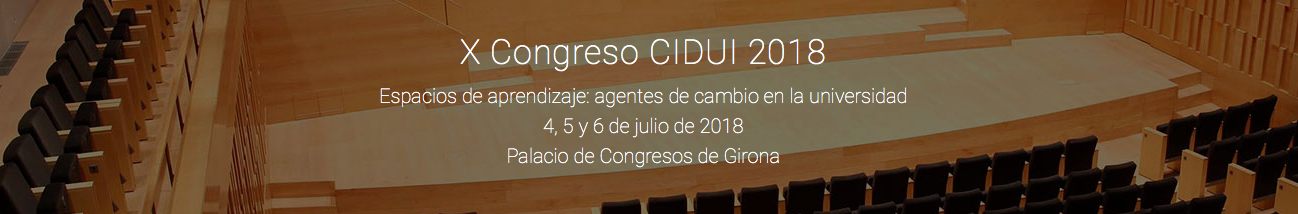 X Congreso CIDUI 2018